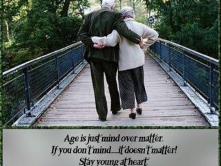 Important Life Lessons, We learn as we Age